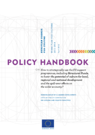 Policy Handbook on the strategic use of EU support programmes for the Culture sector
