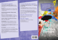 Creative Europe - flyer