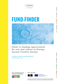 FUND-FINDER, Guide to funding opportunities for arts and culture in Europe, beyond Creative Europe