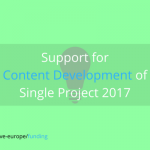 MEDIA Single projects 2017