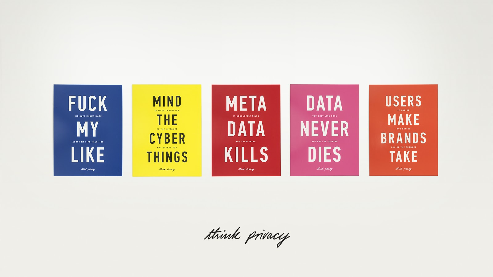 Adam Harvey: Think Privacy. Vir: Aksioma.
