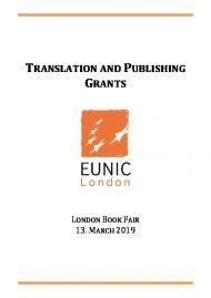 TRANSLATION AND PUBLISHING GRANTS